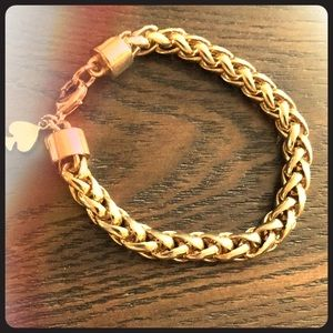 Kate Spade gold mesh bracelet
